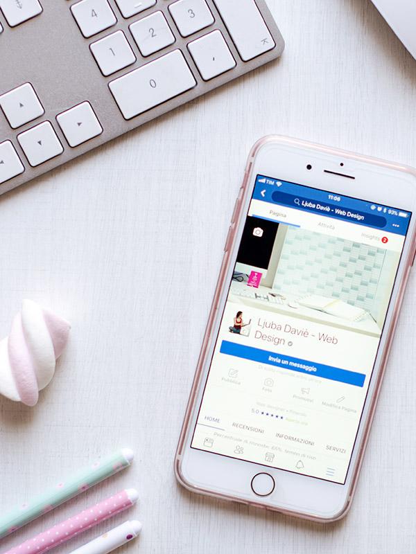 Ottimizzare l'immagine di copertina Facebook per cellulari