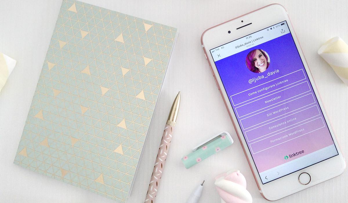 Come configurare Linktree per Instagram